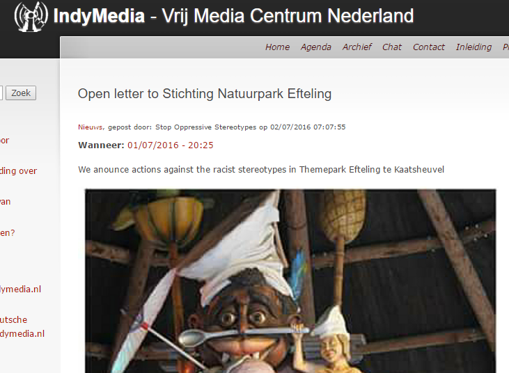De open brief is in het Engels. Zodat internationale hulptroepen komen om Nederlanders te vertellen wat wel mag en wat niet mag? Omdat de activisten geen fatsoenlijk Nederlands kennen? Joost mag het weten...