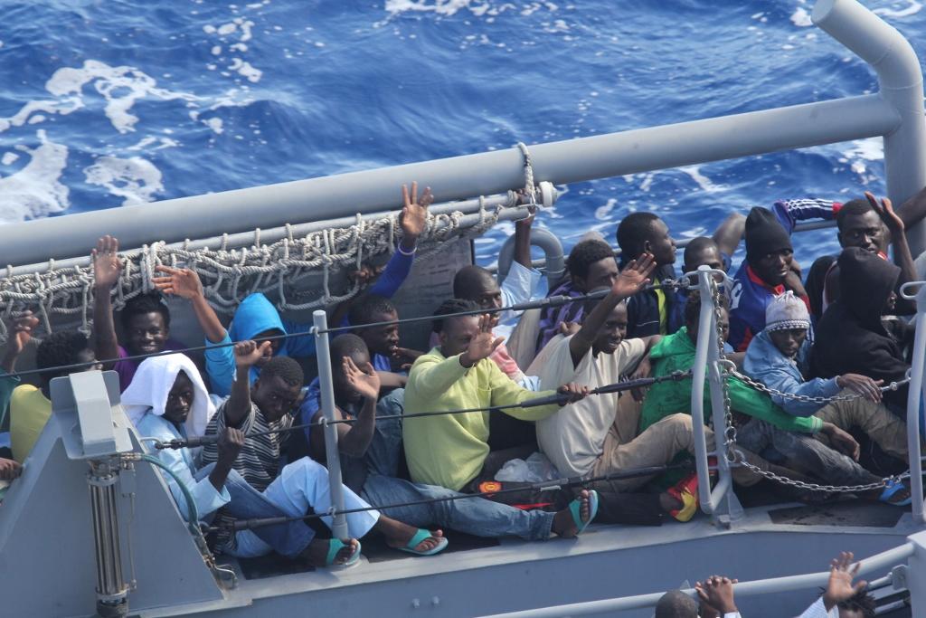 De immigratie vanuit Afrika gebeurt weer met schrikbarende aantallen